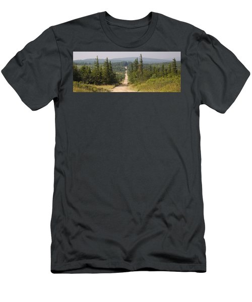 Dirt Road To Dolly Sods Men's T-Shirt (Athletic Fit)