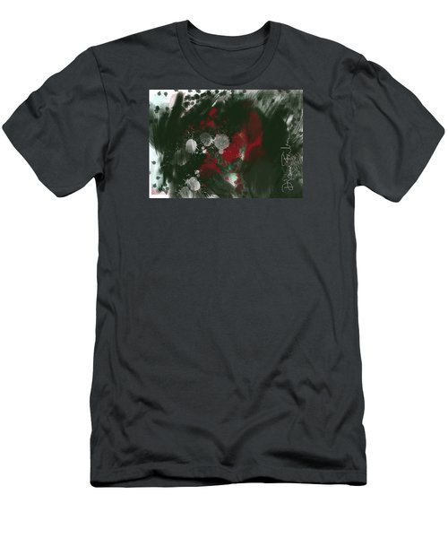 Men's T-Shirt (Slim Fit) featuring the digital art Disappointment by Diana Riukas