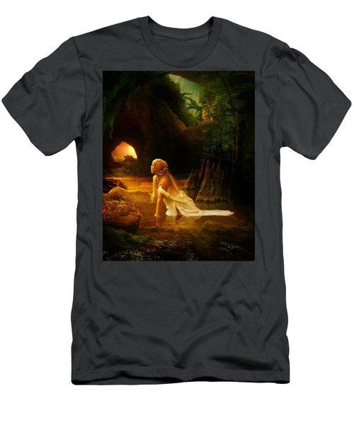 Distant Horizon Men's T-Shirt (Athletic Fit)