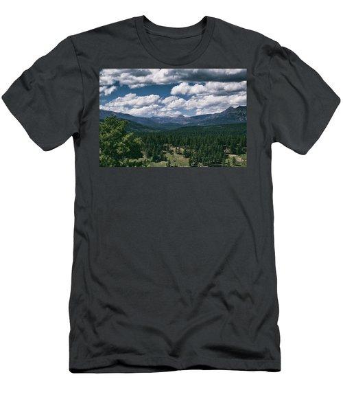 Distant Windows Men's T-Shirt (Athletic Fit)