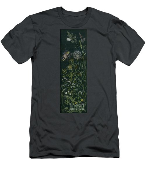 Ditchweed Fairy Grasses Men's T-Shirt (Slim Fit) by Dawn Fairies