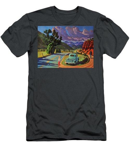Divergent Paths Men's T-Shirt (Athletic Fit)