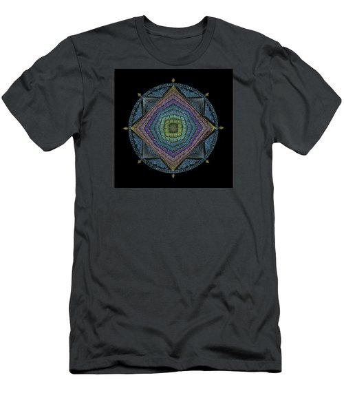 Men's T-Shirt (Athletic Fit) featuring the painting Divine Masculine Energy by Keiko Katsuta