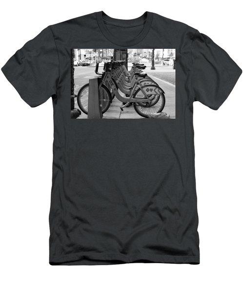 Divvy Bikes Men's T-Shirt (Athletic Fit)