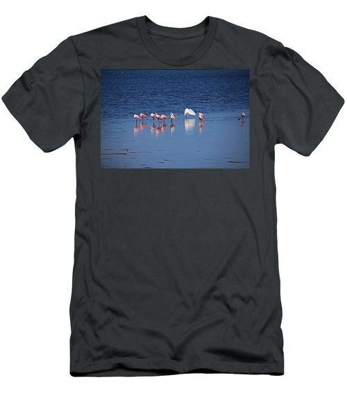 Men's T-Shirt (Athletic Fit) featuring the photograph Do What You Wanna Do by Michiale Schneider