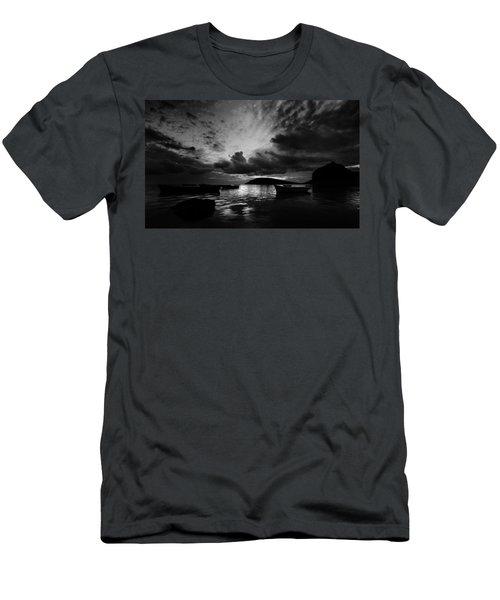 Docked At Dusk Men's T-Shirt (Athletic Fit)