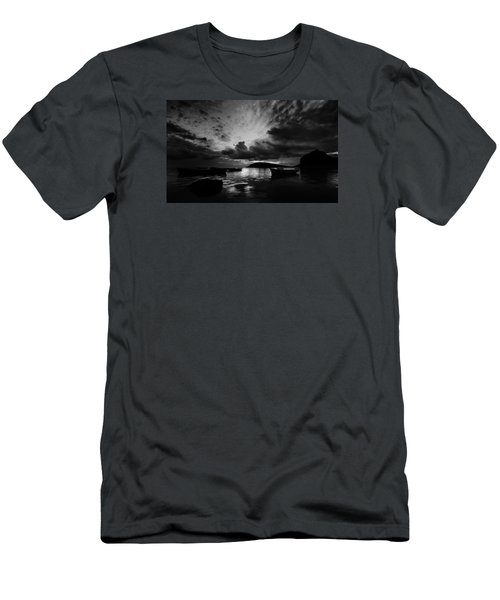 Docked At Dusk Men's T-Shirt (Athletic Fit)