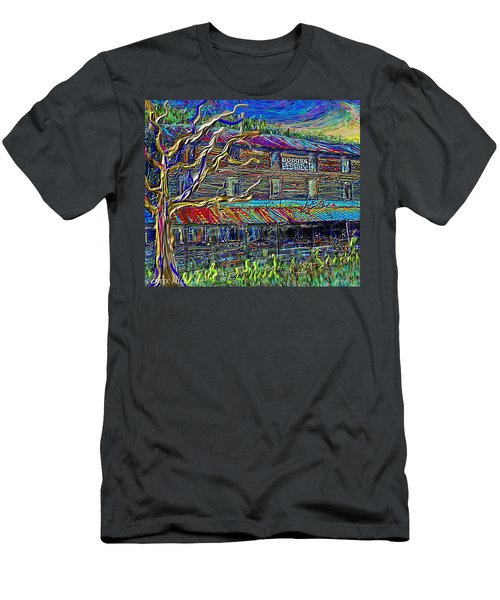 Dodds Creek Mill, ,floyd Virginia Men's T-Shirt (Athletic Fit)
