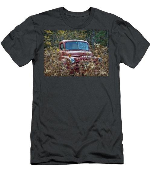 Dodge Truck Parked Men's T-Shirt (Athletic Fit)