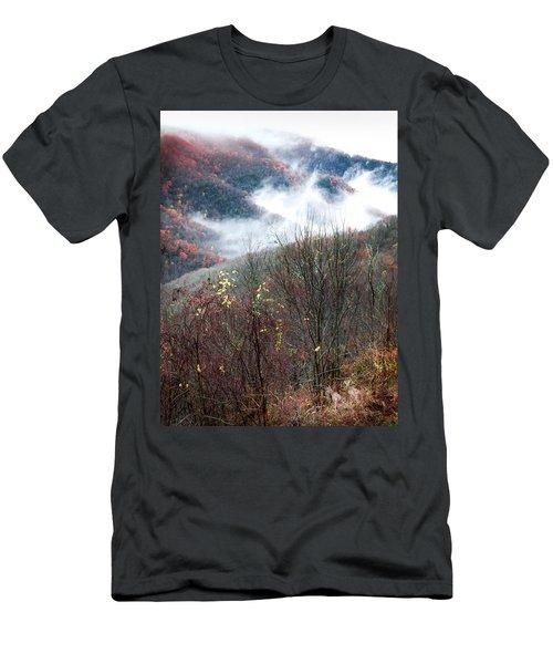 Doe On Autumn Ridge Men's T-Shirt (Athletic Fit)
