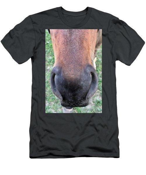 Big Nose  Men's T-Shirt (Athletic Fit)
