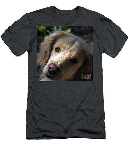 Dog Eyes Men's T-Shirt (Athletic Fit)