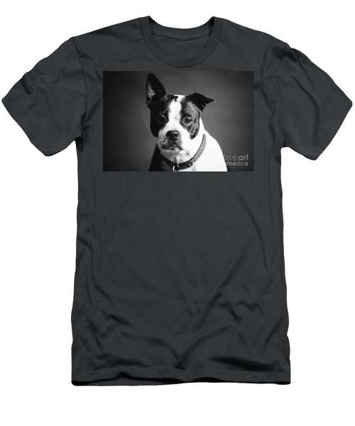 Dog - Monochrome 1 Men's T-Shirt (Athletic Fit)