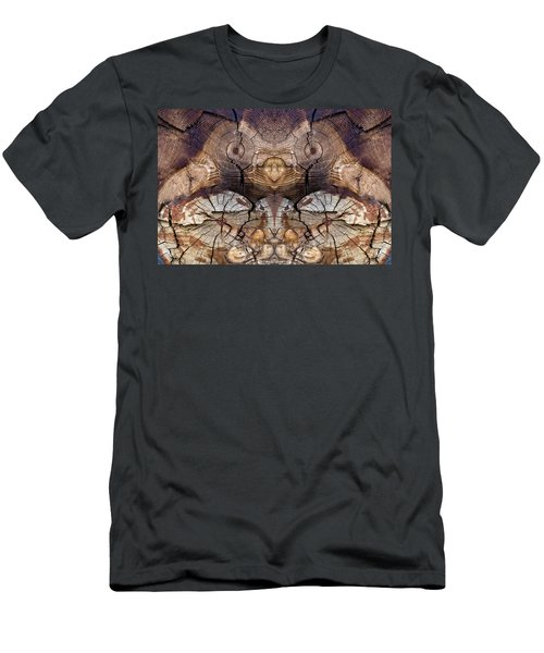 Dog-wood Owl Men's T-Shirt (Athletic Fit)