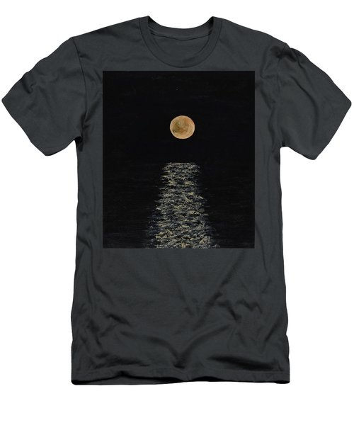 Doha Moonrise Men's T-Shirt (Athletic Fit)
