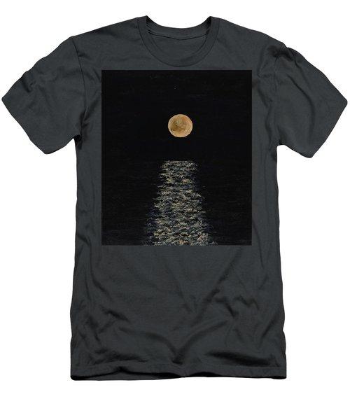 Doha Moonrise Men's T-Shirt (Athletic Fit)