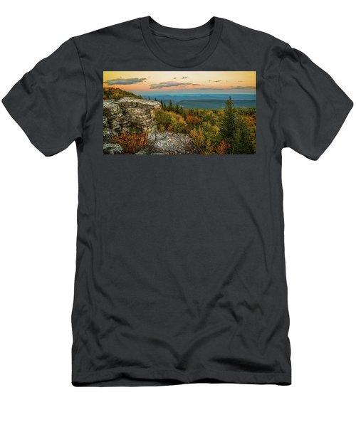 Dolly Sods Autumn Sundown Men's T-Shirt (Athletic Fit)
