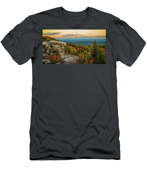Dolly Sods Autumn Sundown Men's T-Shirt (Athletic Fit)