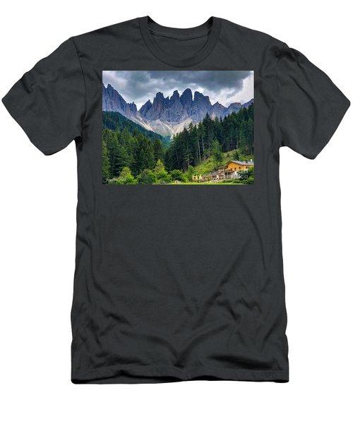 Dolomite Drama Men's T-Shirt (Athletic Fit)