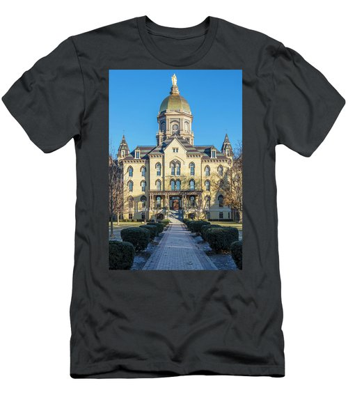 Dome At University Of Notre Dame  Men's T-Shirt (Athletic Fit)