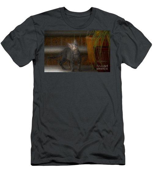 Men's T-Shirt (Slim Fit) featuring the photograph Don Juan Pancho by John Kolenberg