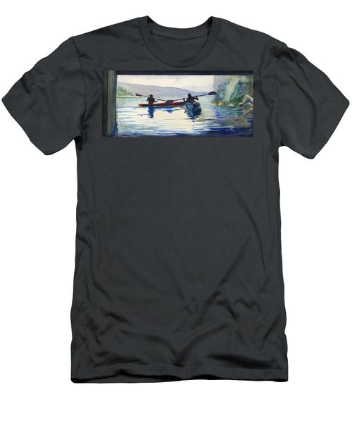 Donner Lake Kayaks Men's T-Shirt (Athletic Fit)