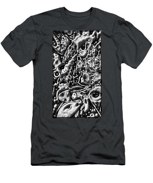 Doodle Emboss Men's T-Shirt (Athletic Fit)