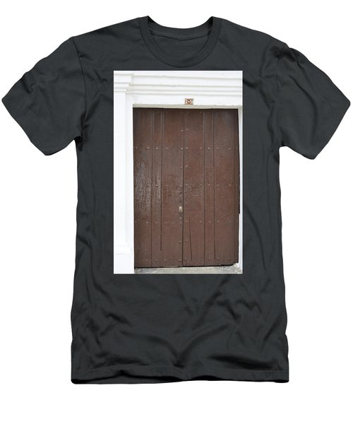 Door # 3  Men's T-Shirt (Athletic Fit)