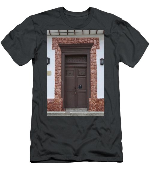 Door # 5  Men's T-Shirt (Athletic Fit)