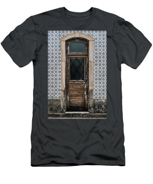 Men's T-Shirt (Slim Fit) featuring the photograph Door No 151 by Marco Oliveira