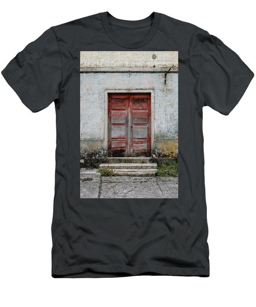 Men's T-Shirt (Slim Fit) featuring the photograph Door No 175 by Marco Oliveira