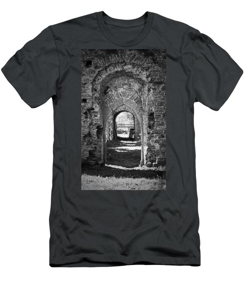 Doors At Ballybeg Priory In Buttevant Ireland Men's T-Shirt (Athletic Fit)