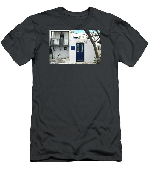 Men's T-Shirt (Slim Fit) featuring the photograph Doors by Haleh Mahbod