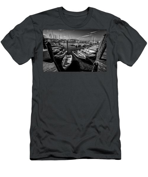 Dory Dock Men's T-Shirt (Slim Fit) by Kevin Cable