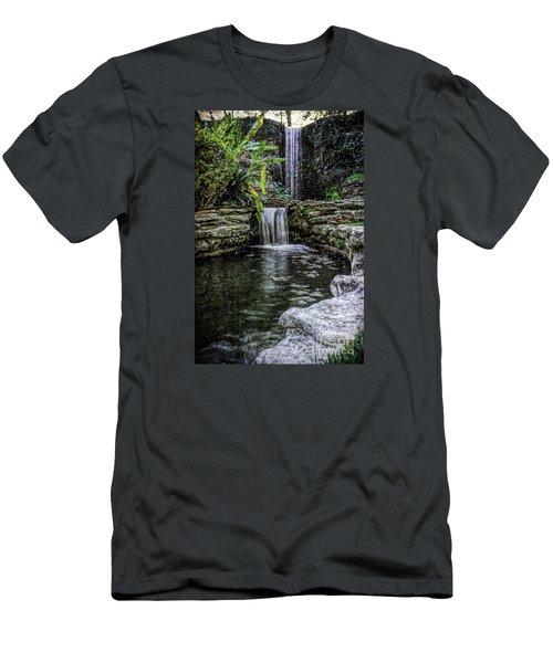 Double Drop Men's T-Shirt (Slim Fit) by Ken Frischkorn