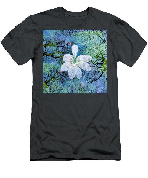 Close Encounters-1 Men's T-Shirt (Slim Fit)