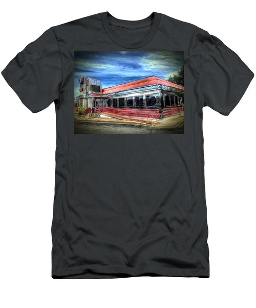 Double T Diner Men's T-Shirt (Athletic Fit)