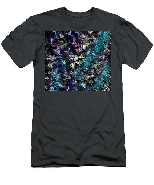 Down The Rabbit Hole Men's T-Shirt (Slim Fit) by Kathie Chicoine