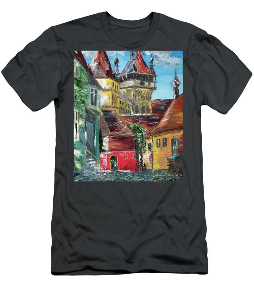Down The Street Men's T-Shirt (Athletic Fit)