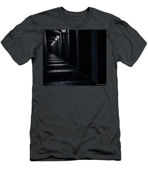 Down The Walkway Men's T-Shirt (Athletic Fit)