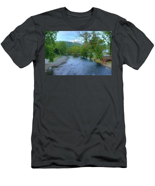 Downstream Men's T-Shirt (Athletic Fit)