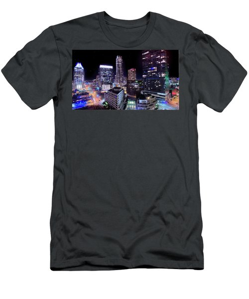 Downtown Atx Men's T-Shirt (Slim Fit) by Andrew Nourse