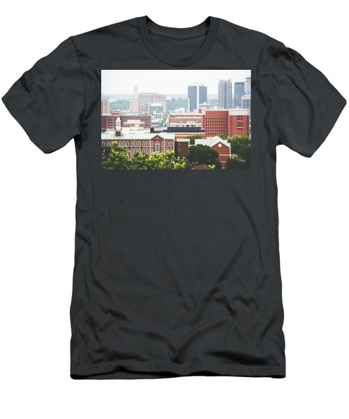 Men's T-Shirt (Slim Fit) featuring the photograph Downtown Birmingham - The Magic City by Shelby Young