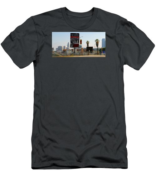 @downtown Los Angeles Men's T-Shirt (Athletic Fit)