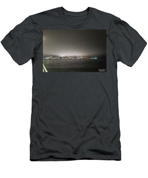 Downtown Oc Skyline Men's T-Shirt (Athletic Fit)