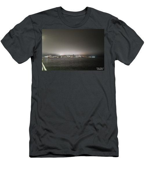 Downtown Oc Skyline Men's T-Shirt (Athletic Fit)