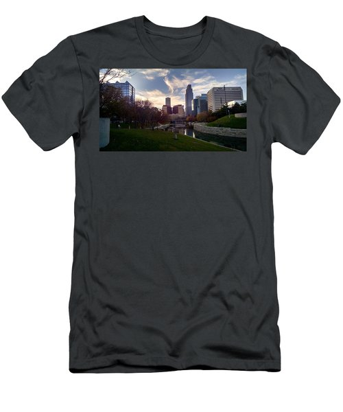 Downtown Omaha Men's T-Shirt (Athletic Fit)