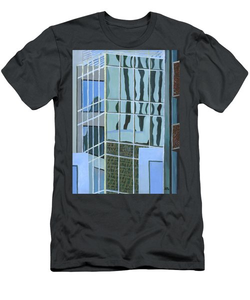 Downtown Reflections Men's T-Shirt (Athletic Fit)
