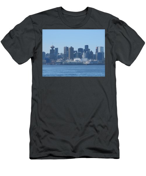 Downtown View From North Vancouver Men's T-Shirt (Athletic Fit)