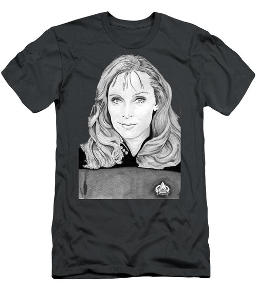 Dr. Beverly Crusher Men's T-Shirt (Athletic Fit)